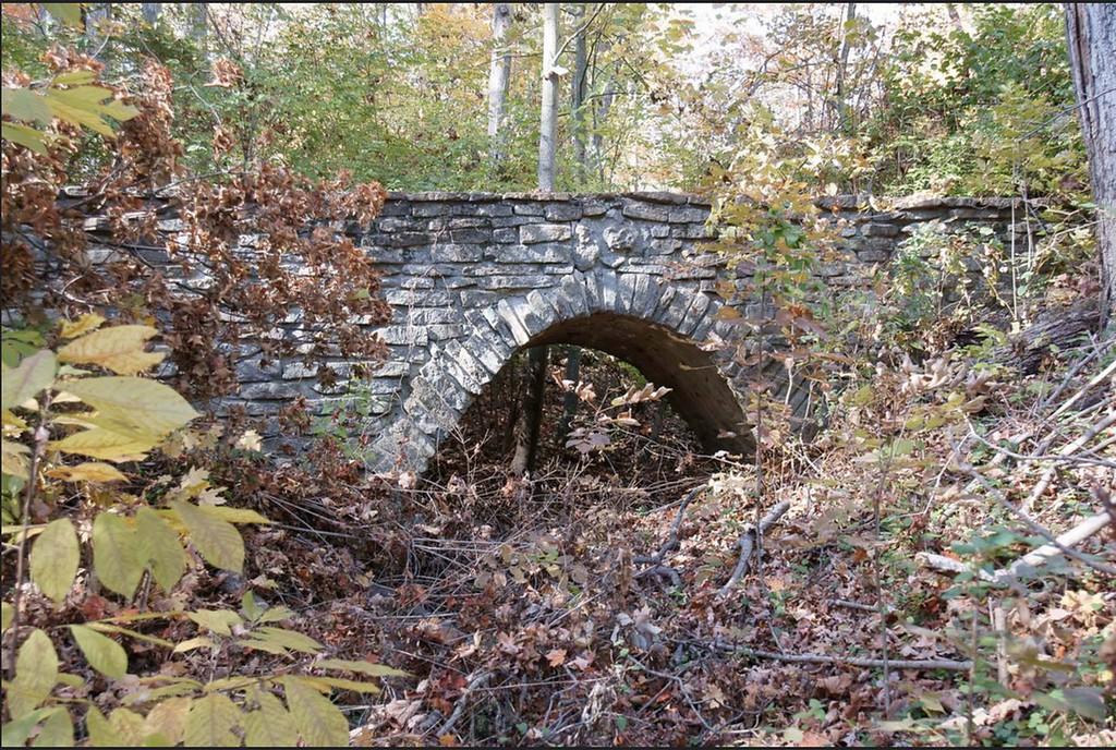 Bridge leading to the estate