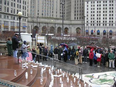 3000th Cleveland Vigil  1/1/07