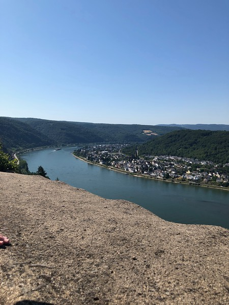 From Marksburg Castle (Braubach) Overlooking Rhine River