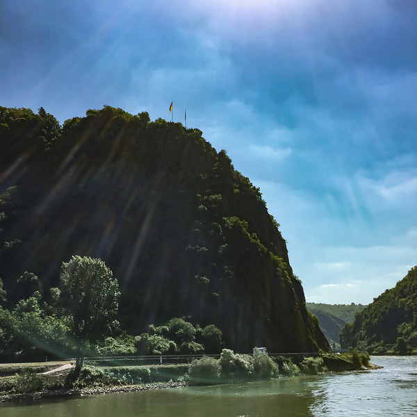 Loreley Rock on the Rhine