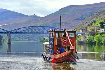 Rabelo Tourist Boat:  Ferreira on the Douro River