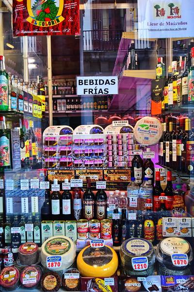 Store Window in Madrid