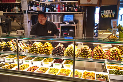 Olives in the Market Place