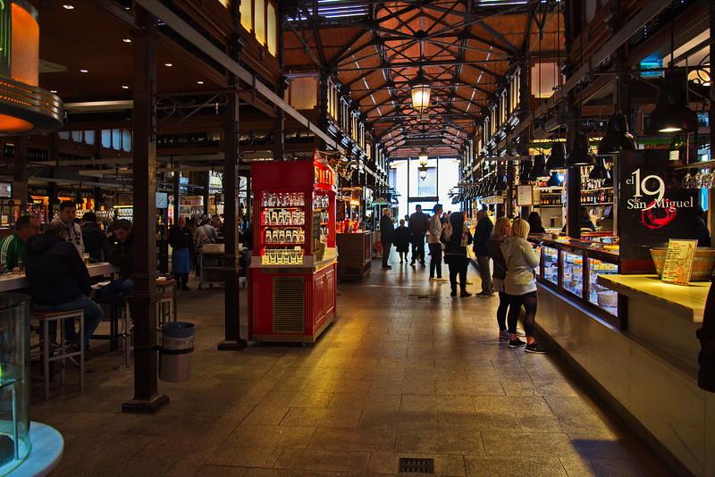 Large Market in Central Madrid