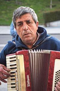 Accordion Street Musician
