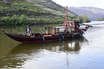 Smaller Rabelo Boat:  Douro Tawny