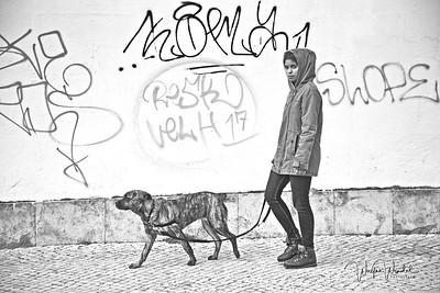 Walking the Dog in Lisbon