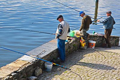 Trio of Fishermen