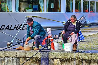 Ma and Pa Fishing