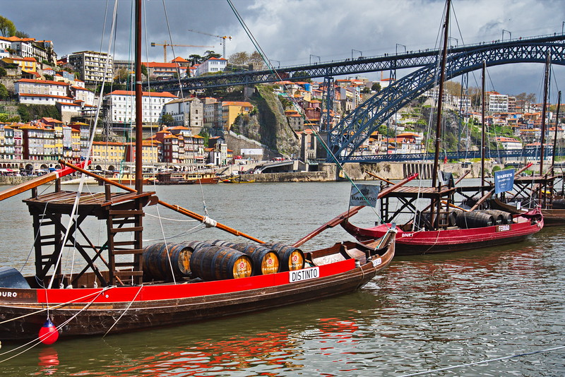 Rabelo Boats on the Douro River
