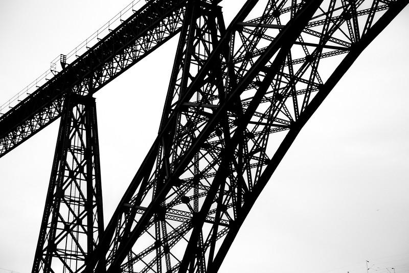 Ponte Luis I Bridge Abstract