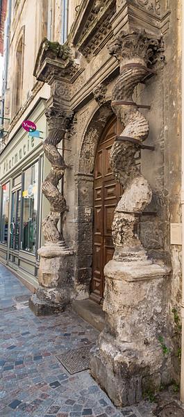 Arles, France - street scene