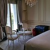 A view of the master bedroom and stunning French Decor.