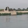 The old bridge on the Rhone at Van Gogh's Arles