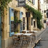 The cafe lifestyle found in Europe and Arles.