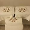 Monogrammed Le Meurice towels...