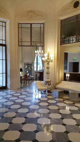 Lobby view...