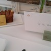 Lovely gifts from the affable General Manager of Le Meurice!