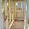 """Th mirrored closet that I called The """"Hall of Mirrors""""..."""