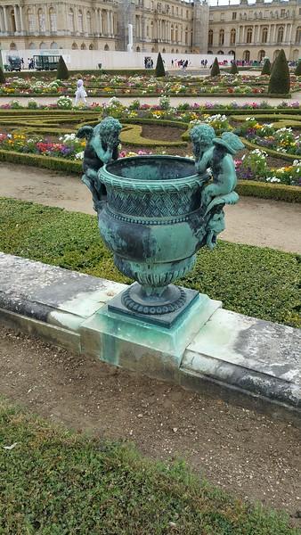 Each pot had unique figures and architecture.