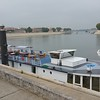 Some of the many river ships along the Rhone.