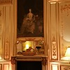 The fireplace in the Grand Salon-Guess who the painting is?