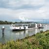 Our Riverboat Docked in Kinderdijk
