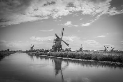 Kinderdijk & Amsterdam
