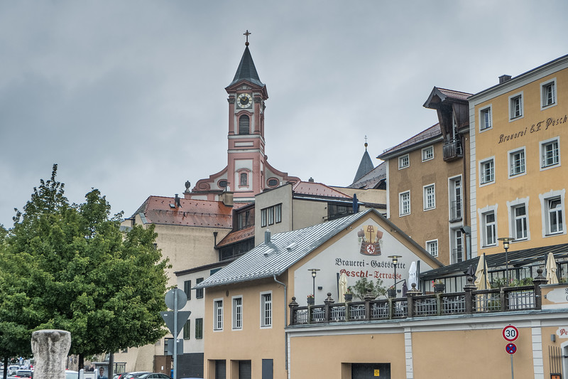 Passau--As shot from the riverfront