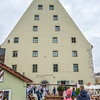 "Regensburg--""The Salt Warehouse"" --where salt was stored years ago."