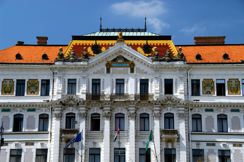 Hungary, Pecs, Megyeháza (county seat)