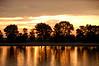 Bulgaria, Sunset on the Danube River