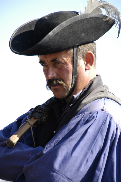 "Hungary, A ""chicos"" (cowboy) at a farm in the ""Puszta"", near Kalocsa"