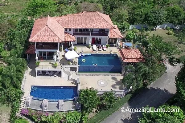 Villa Amari Aerial View