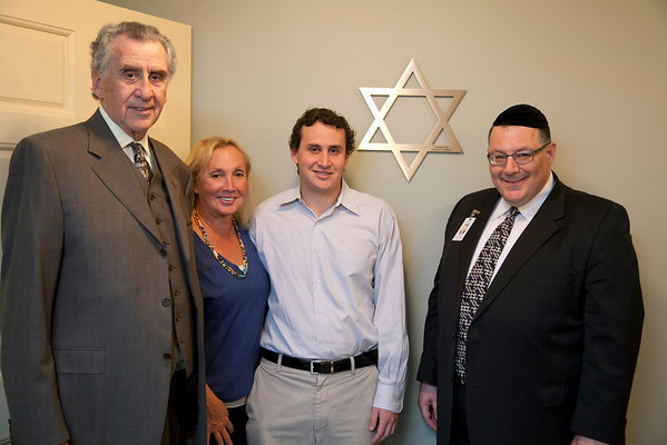 20111111 Villa Marie Claire dedication ceremony for the interdenominational room, and the Jewish Star, at the Villa Marie Claire in Upper Saddle River, NJ. 11/11/11  Photo by Jeff Rhode/Holy Name Medical Center
