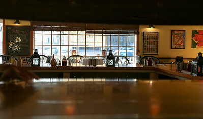 The Village Cafe and Bistro is now open for dinner 5 nights a week.  Photo by John Fitts