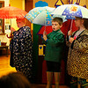 HOLLY PELCZYNSKI - BENNINGTON BANNER Dreaming of warmer days to come. Kindergartners Morgan McGean, Finn Basil - Adriance, and Eric LaFlame  of The Village School of North Bennington sing some warm weather nursery rhymes during a Mother Goose production on Friday morning.