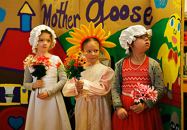 Village School celebrates Mother Goose. 031317