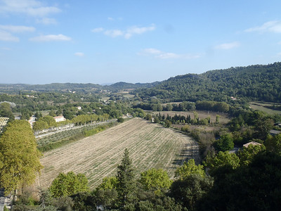 View from Chateau Ansouis