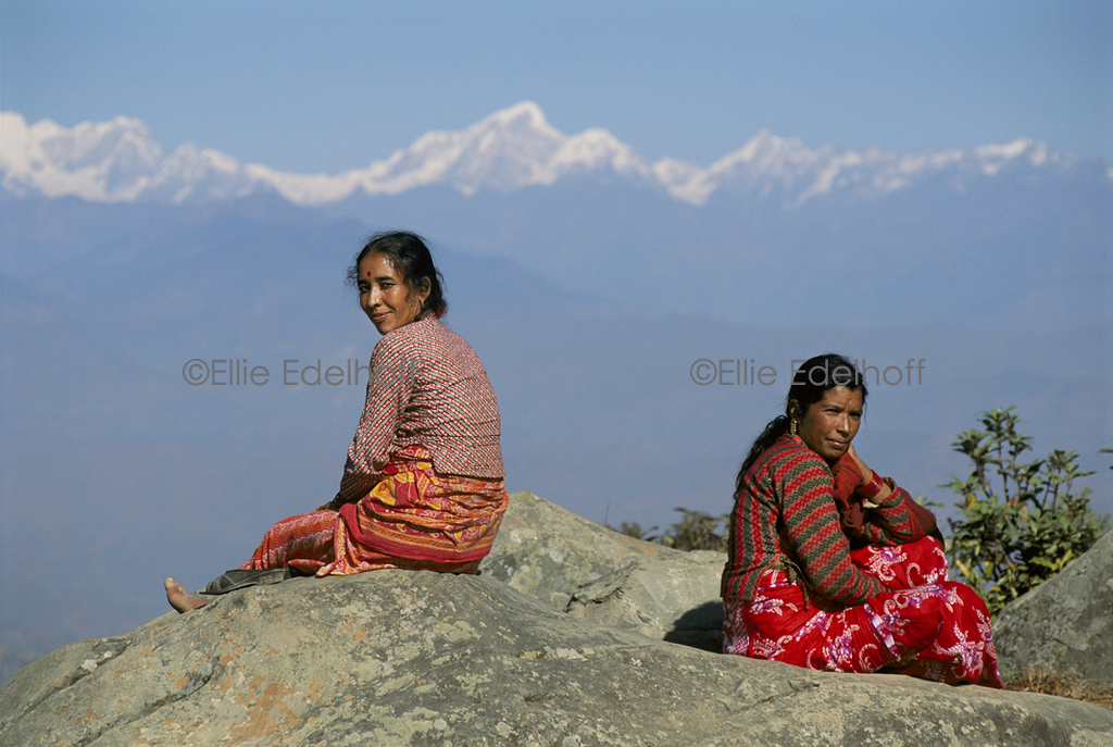 At the Rim of the Kathmandu Valley - Nepal