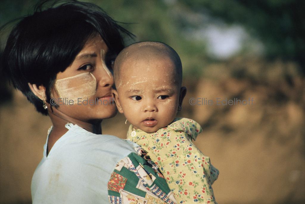 Babes in Burma - Bagan, Burma