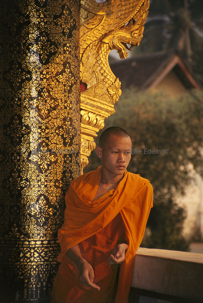 At Luang Prabang's Royal Temple – Laos