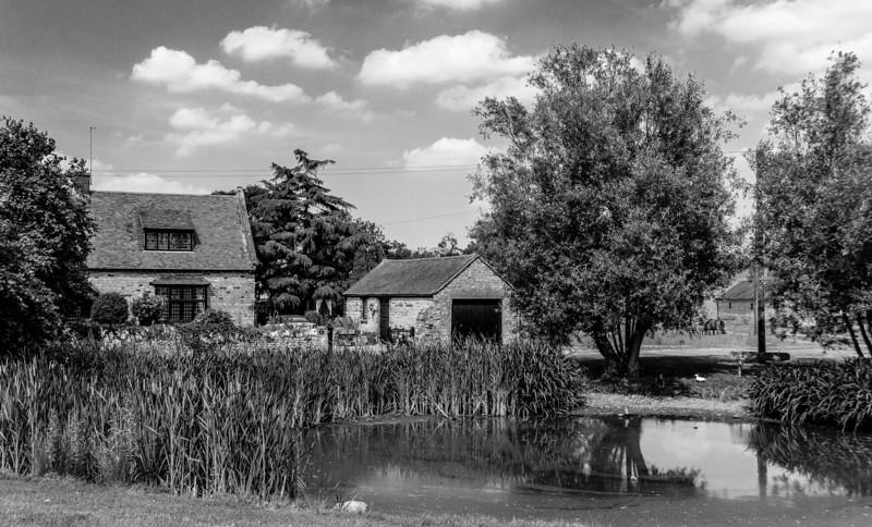 Village Pond, Brafield-on-the-Green, Northamptonshire