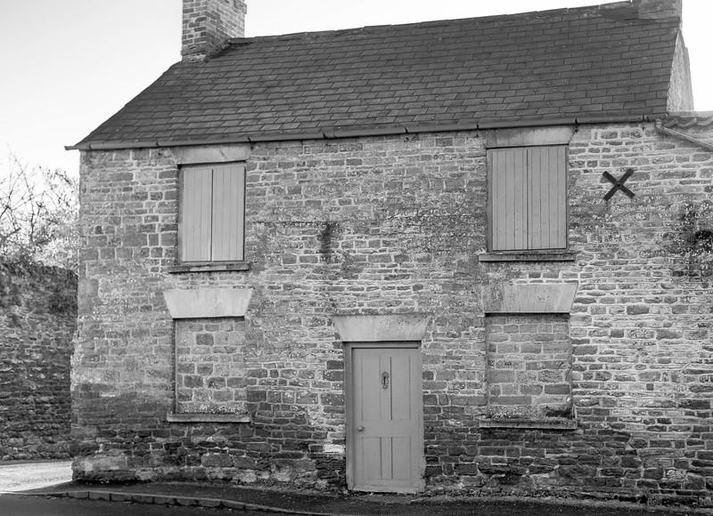 Abandoned House, Church Street, Brixworth, Northamptonshire