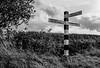 Signpost, Ashton, Northamptonshire