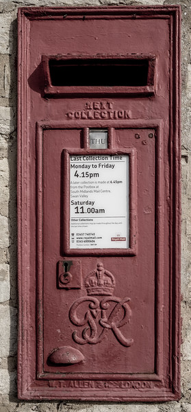 GR VI Postbox, Ashton, Northamptonshire