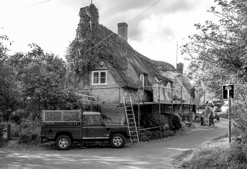 Rethatching, Ashton, Northamptonshire