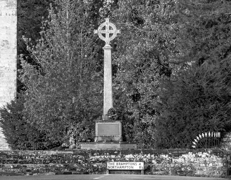 War Memorial, East Haddon