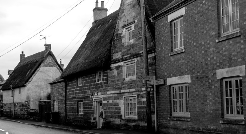 Cottages, Main Street  opposite Ravensthorpe Road, East Haddon
