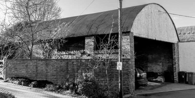 Corrigated Garage, the Green, Flore, Northamptonshire